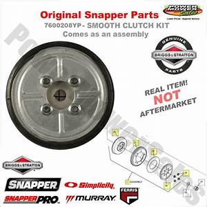 7600136yp - Smooth Start Clutch Kit - Drive Disc Assembly