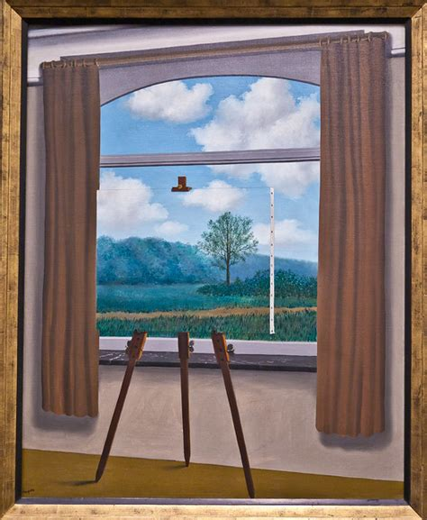 la condition humaine  rene magritte flickr photo