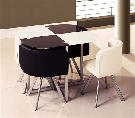 Contemporary Design Stylish Oval Modern Dining Set