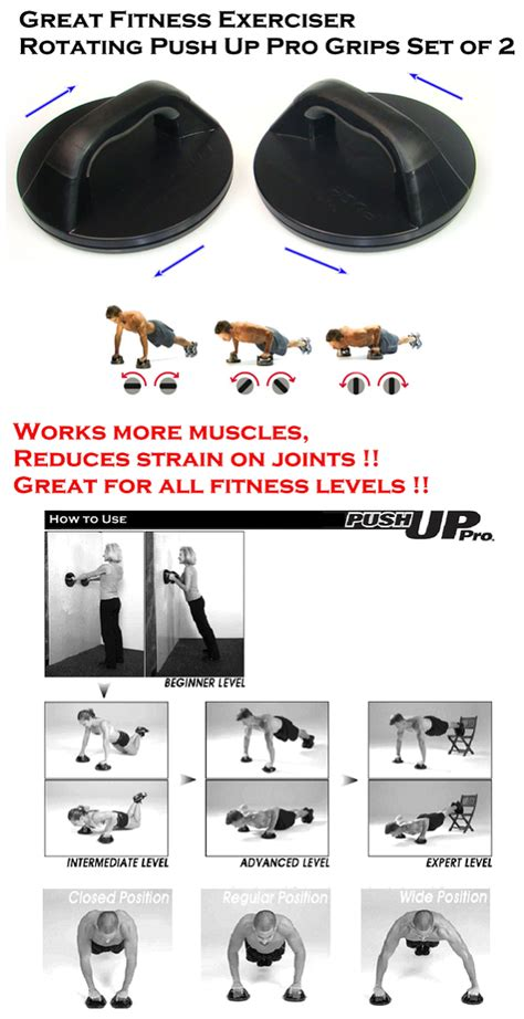push up stand s u pro shape handle workout fitness