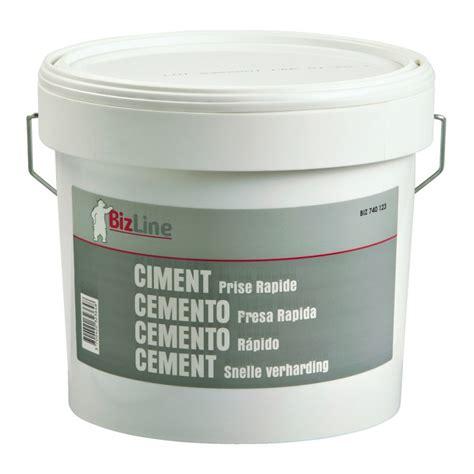 ciment prise rapide seau ciment prise rapide 5kg bizline 740123