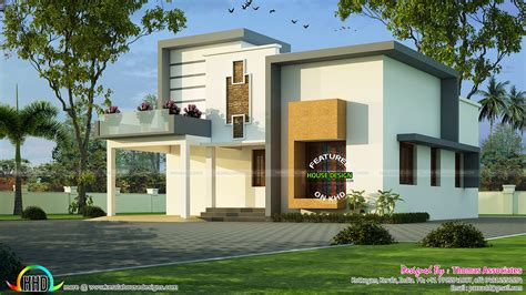 Kerala House Plan With Estimate ₹25 Lakhs  Kerala Home