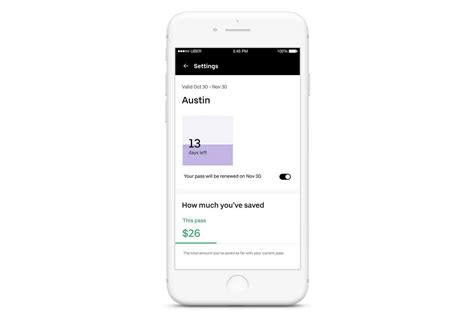 Uber's New Ride Pass Service Gives Riders Discounted Trips