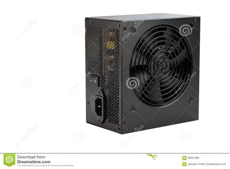 Power Source Of Computer Stock Photo