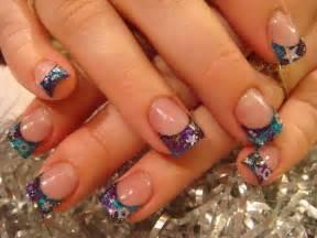 Last days of summer nail acrylic