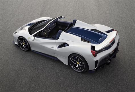 Ferrari offers the 488 pista in coupe and convertible variants. Ferrari 488 Pista Spider revealed at Pebble Beach | PerformanceDrive