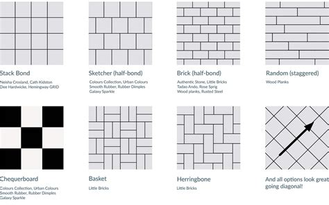 brick layout brick pattern tile layout tile design ideas