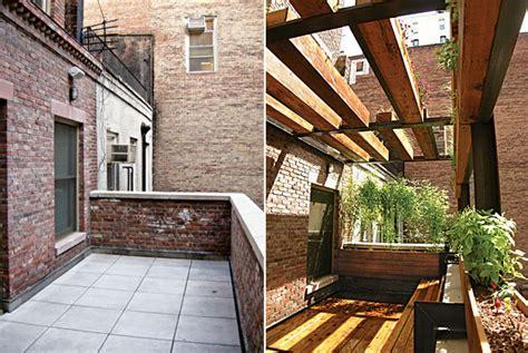 barren terrace turned green sanctuary home design fall