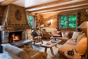 decoration interieur chalet montagne 50 idees inspirantes With decoration chalet de montagne