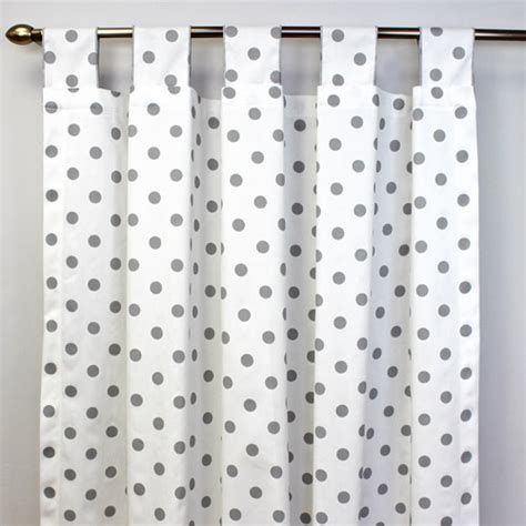 polka dot curtains tab top curtains styles and uses
