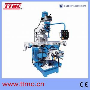X6332wa  Vertical And Horizontal Turret Milling Machine