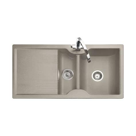 rangemaster kitchen sinks rangemaster range cookers lunar sink 1 5 bowl reversible 1721