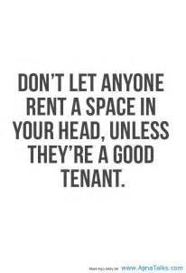 Rent in Your Head Quote
