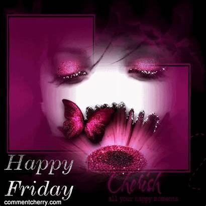 Friday Happy Morning Gifs Glitter Cherish Moments