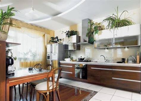 greenery  kitchen cabinets ideas  white painted