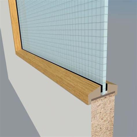 oak glazing bead fd  doors