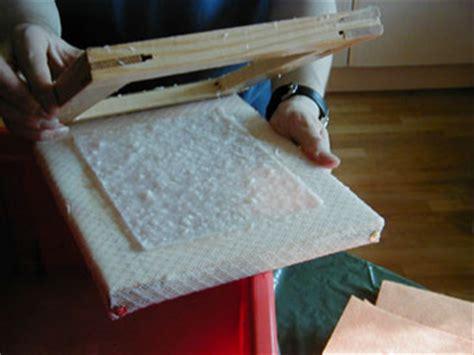 fabrication de papier recycl 233 avec un tamis fait maison technique de fabrication