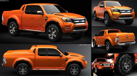 ford ranger max concept  pictures information specs