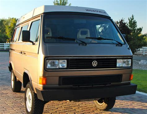 volkswagen vanagon 1986 vw vanagon syncro westfalia cer w 14k on engine