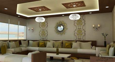 salon marocain moderne de luxe decoration dinterieur