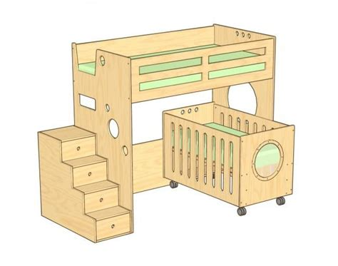 25+ Best Ideas About Bunk Bed Crib On Pinterest