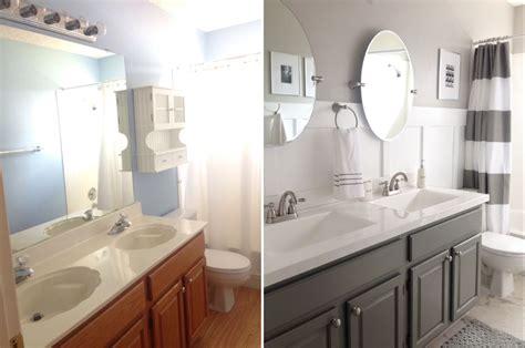 Guest bathroom renovation. Vanity paint: Behr - Wet Cement ...
