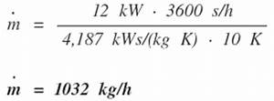 Massenstrom Berechnen Heizung : rohrnetzberechnung formeln aus dem tga shk bereich ~ Themetempest.com Abrechnung