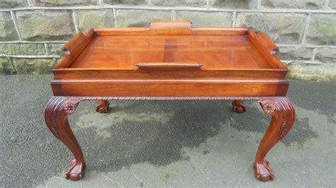 Mahogany Tray Top Coffee Table C.1920