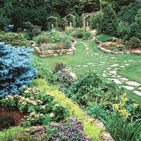 garden path ideas stepping walkways