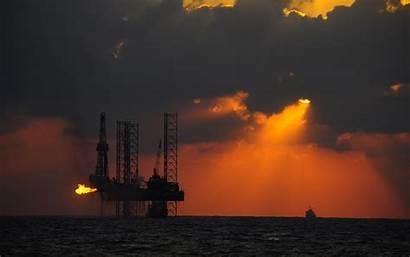 Oil Platform Background Wallpapers