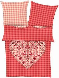 Flanell Bettwäsche 220x240 : sch ne bettw sche aus flanell rot 135x200 von ibena bettw sche ~ Frokenaadalensverden.com Haus und Dekorationen