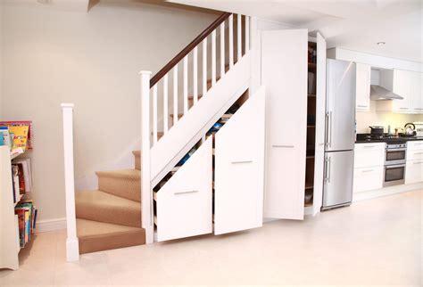 sliding door door stairs storage in stairs cupboard