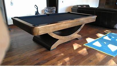 Pool Table Contemporary Tables Walnut Millenium Modern