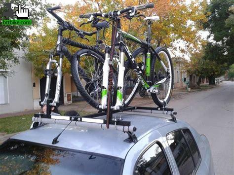 Porta Bici X Auto by Porta Bicicleta Para Techo De Auto Usada En Venta Btt
