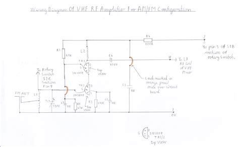 Tv Antenna Lifier Circuit Diagram vhf antenna wiring diagram along with tv antenna wiring