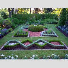 Formal Herb Garden  Lakeview Gardens