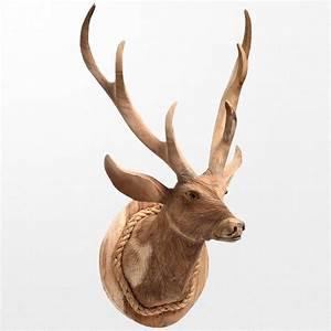 Statue Animaux Design : statue d 39 animal design repr sentant une t te de cerf ~ Teatrodelosmanantiales.com Idées de Décoration