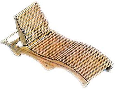 chaise ée 70 1000 images about slat furniture on pool