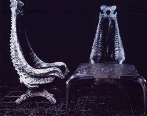 Giger Harkonnen Capo Chair by The Official Website Of H R Giger Exhibitions Quot Furniture