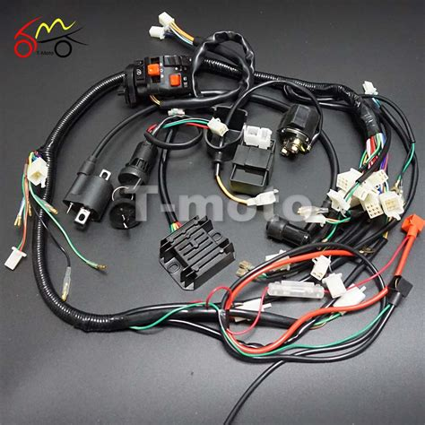 wiring harness loom ignition coil cdi for 150cc 200cc