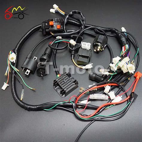 wiring harness loom ignition coil cdi for 150cc 200cc 250cc 300cc zongshen lifan atv