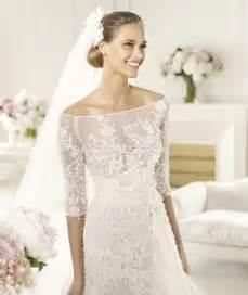 valentino brautkleider glamorous a line lace satin the shoulder half sleeve floor length with sweep wedding