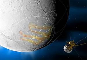 NASA - Cassini Prepares to Swoop by Saturn's Geyser ...