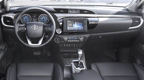 toyota hilux  dimensions boot space  interior