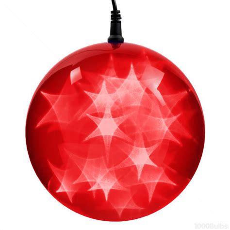 christmas light spheres home depot red holographic starfire sphere led lights