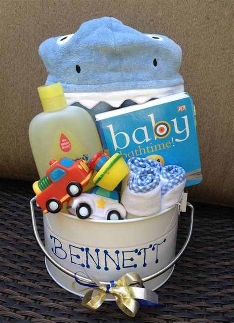 DIY Boy Baby Shower Gift Basket Ideas