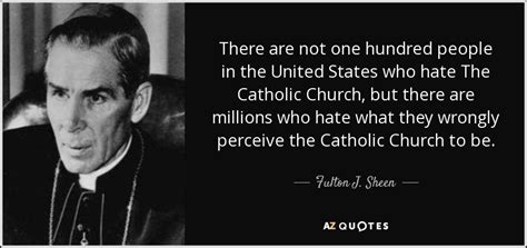 fulton  sheen quote      people
