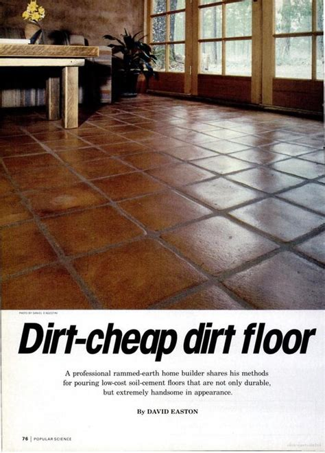 good details  instructions  soil cement