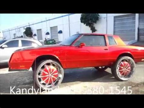 kandyland customs chevy monte carlo ss   youtube