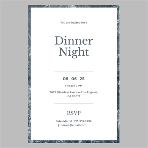 8+ Annual Dinner InvitationsPSD Vector EPS AI